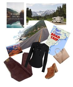 """Cross Country Trip"" by parnett ❤ liked on Polyvore featuring art and country"