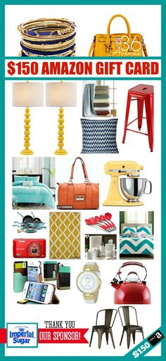 CLICK on the IMAGE  AND enter to win a $150 Target Gift Card on the blog!