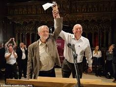 Image result for jeremy corbyn manchester cathedral peoples post rally