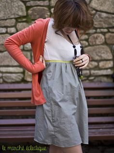 Diy robe facile (à partir d'un débardeur ou d'un tee-shirt)