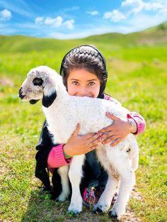 Kalhur Kurdish girl