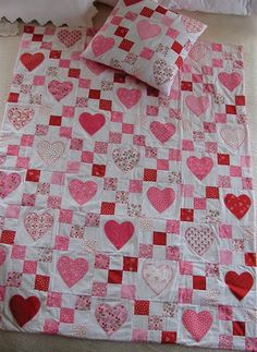 Picture of Valentine Quillow and Companion Pillow