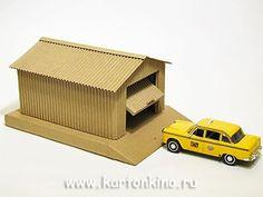 Моделирование из бумаги и картона | 27 фотографий