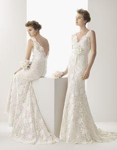 Wedding Dress Wednesday: Rosa Clara - Wedding Thingz