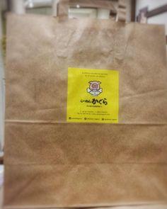 Dentro de esta bolsa hay un ramen que va desde #ramenkagura a tu casa gracias a @takeeateasy_es http://ift.tt/1N3P6Dt