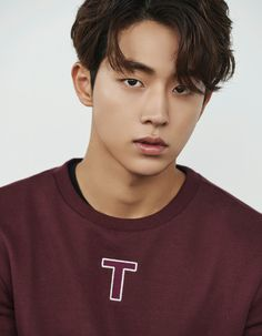 South Korean model and actor Nam Joo Hyuk is the latest star to endorse the fashion brand UGIZ. The actor steals hearts with his perfect boyfriend look completed with hot fashion items such as bomber jackets, sweatshirts, skinny jeans, and more. Korean Male Actors, Korean Celebrities, Asian Actors, Korean Male Fashion, Celebs, Hot Korean Guys, Cute Korean, Nam Joo Hyuk Smile, Nam Joo Hyuk Lee Sung Kyung