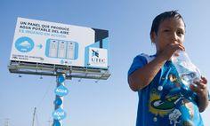 Lktato.blogspot.com: Panel Publicitario crea Agua a partir del Aire