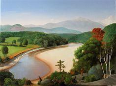 james aponovich | The Saco River at Conway, NH