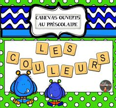 To Learn French Kids Referral: 2557955417 French Teaching Resources, Teaching French, Tni Maternelle, Kindergarten Activities, Preschool, Grade 1 Reading, Smart Board Lessons, Color Unit, French Colors