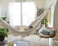 Uma rede para ler, uma rede pra dormir, uma rede pra sonhar :)