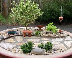 awesome mini garden design benches pond stone path mini tree