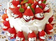 Japanese Christmas Cake Recipe | Just A Pinch Recipes