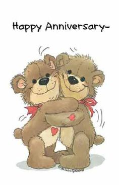 """Suzy's Zoo Valentines Cards are Loved"""" 10956 Happy Wedding Anniversary Wishes, Work Anniversary, Birthday Wishes Quotes, Birthday Greetings, Anniversary Verses, Teddy Pictures, Card Sentiments, Tatty Teddy, Cute Teddy Bears"""