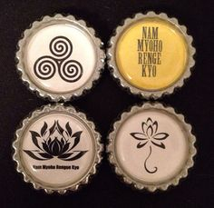 Lotus/NMRK Magnets by VioletBreathReiki on Etsy