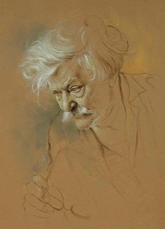 by Morteza Katouzian (pencil and pastel on paper)
