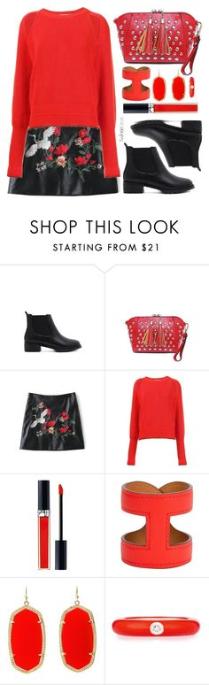 """""""TwinkleDeals"""" by simona-altobelli ❤ liked on Polyvore featuring Givenchy, Christian Dior, Hermès, Kendra Scott and Adolfo Courrier"""