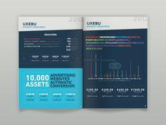 Magazine infographics by Fabio Basile