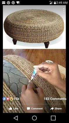 29 Upcycled Furniture Projects to Try. Time for Trash-Picking! 29 Upcycled Furniture Projects to Try. Time for Trash-Picking! Old Furniture, Upcycled Furniture, Furniture Projects, Craft Projects, Refurbished Furniture, Bedroom Furniture, Furniture Makeover, Diy Patio Furniture Cheap, Street Furniture