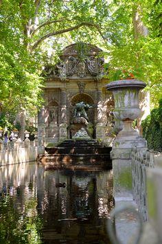 Luxembourg Gardens Fountain, Paris VI