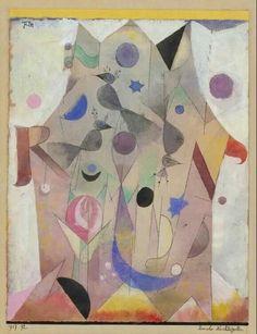 Paul Klee – Persian Nightingales, 1917