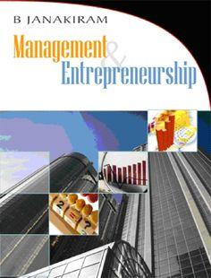 Management  Entrepreneurship