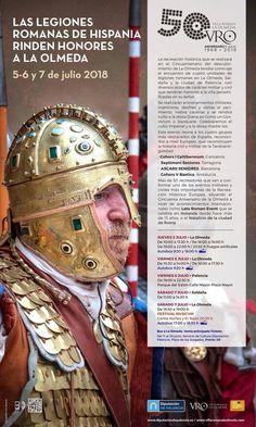LAS LEGIONES ROMANAS DE HISPANIA RINDEN HONORES A LA OLMEDA Portal, Baseball Cards, Roman Legion, Don't Give Up, Romans