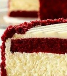 Maria's Kitchen !!!: WOW.... RED VELVET CHEESECAKE !!!!