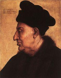 Quentin Massys, Portrait of an Old Man, c. 1517, oil on wood, 48 x 37 cm (Musée Jacquemart-André, Paris)