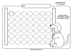 Počítadlo - grafomotorika - pracovné listy pre deti