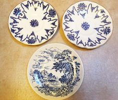 Coalport plates fine bone china by LoveCareHandmade on Etsy