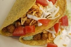 Roasted Chickpea Tacos - HolFit - Plan to Eat