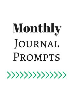 Life of Lovely: Journal Prompts for those days when I don't know what I want to write about