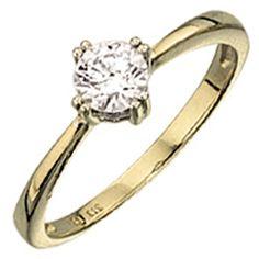 Damen Ring 333 Gold Gelbgold Weißgold bicolor 1 Zirkonia Goldring http://cgi.ebay.de/ws/eBayISAPI.dll?ViewItem&item=151963458195&ssPageName=STRK:MESE:IT
