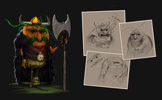 Viking Carrot , PAVEL Valseca on ArtStation at https://www.artstation.com/artwork/Xdoqw