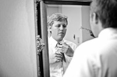 This is a great shot of the groom! #MinneapolisWeddingPhotographer