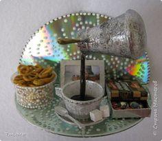 Поделка изделие Ассамбляж Чашечка кофе Материал бросовый фото 1