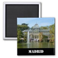 SOLD Crystal Palace, Madrid Magnet