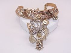 stunning brass corrugated collar by BellizaKnightJewelry on Etsy, $248.00