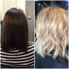 TRANSFORMATION: Level 4 Perm Dye to Dimensional Blonde in ONE DAY! | Modern Salon Dimensional Blonde, Perm, Board, Long Hair Styles, Beauty, Modern, Beleza, Wavy Perm, Long Hairstyle