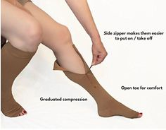 Buy Compression Socks for Varicose Veins and Edema Sizes Medium-XXL at online store Best Socks For Running, Running Socks, Left Eye Twitching, Support Socks, Running Equipment, Compression Stockings, Varicose Veins, Physical Therapy, Herbal Medicine