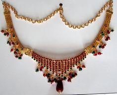 www.DanceCostumesAndJewelry.com - Antique Design Necklace S9733, $ 18.90 (http://www.dancecostumesandjewelry.com/products/Antique-Design-Necklace-S9733.html)