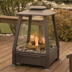SIERRA FREESTANDING FIREPLACE