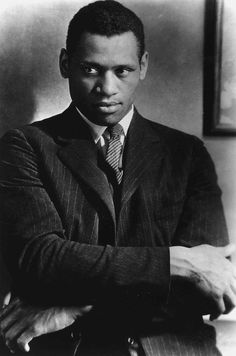 Paul Robeson was an African-American singer and actor, Civil Rights activist; an outstanding American college football player. Description from pinterest.com. I searched for this on bing.com/images