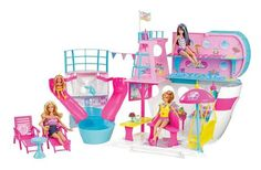 Brand New Barbie Sisters Cruise SHIP with Dolls Girls Toy Boat Ocean Beach | eBay
