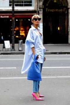 Petite Fashion Tips shoes.Petite Fashion Tips shoes Mode Outfits, Casual Outfits, Fashion Outfits, Womens Fashion, Fashion Tips, Fashion Trends, Petite Fashion, Outfits With Blue Shoes, Modest Fashion