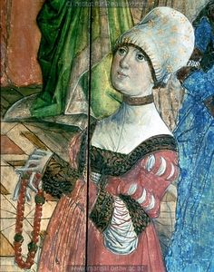 Catherine of Saxony, Archduchess of Austria as Salome,1468       Portrait of a Woman of the Hofer Family,c. 1470      Ernest,Elector of...