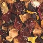 Pear Cinnamon  The combination of sweet fruits and spicy cinnamon are like a dessert in a cup! Wonderful winter blend that inspires Christmas.  Ingredients: apple pieces, hibiscus, rose hip peels, pineapple cubes, cinnamon bits, natural flavoring, sunflower blossoms.