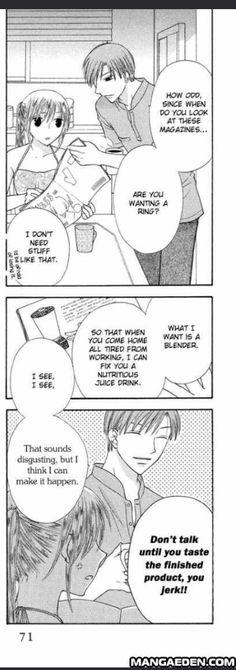Haha, I loved Kyoko and Katsuya's story!