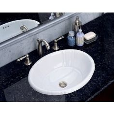 Found it at Wayfair - Antigua Petite Countertop Bathroom Sink Drop In Bathroom Sinks, Bathroom Spa, Modern Bathroom, Small Bathroom, Bathroom Ideas, Kitchen Sinks, Lavatory Sink, Undermount Bathroom Sink, Bathroom Countertops