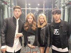 """K.A.R.D (@official_kard) en Instagram: """"2017.03.01 7:00 PM Coming up next! K.A.R.D is on 언니네라디오 SBS라디오 본방사수! #KARD"""""""